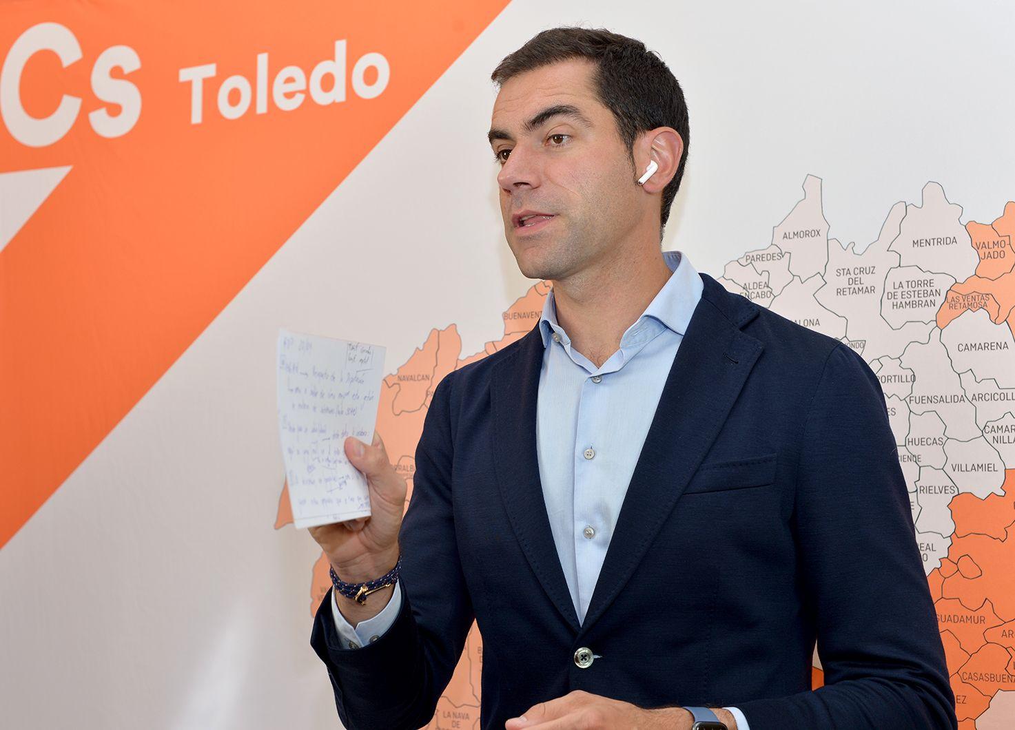 Cs Toledo propone un Plan de Subvenciones para que los más de 50 millones que la Diputación destina a ayudas