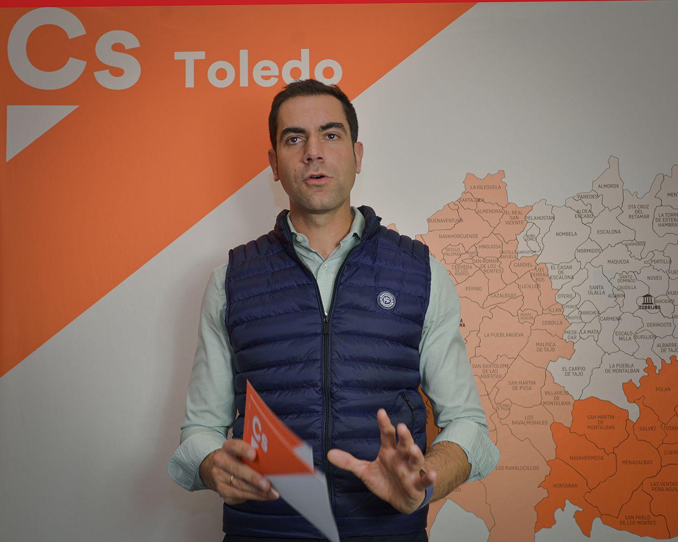 Cs Toledo recurrirá a la vía judicial si la Diputación continúa incumpliendo la ley limitando a la oposición su labor de control