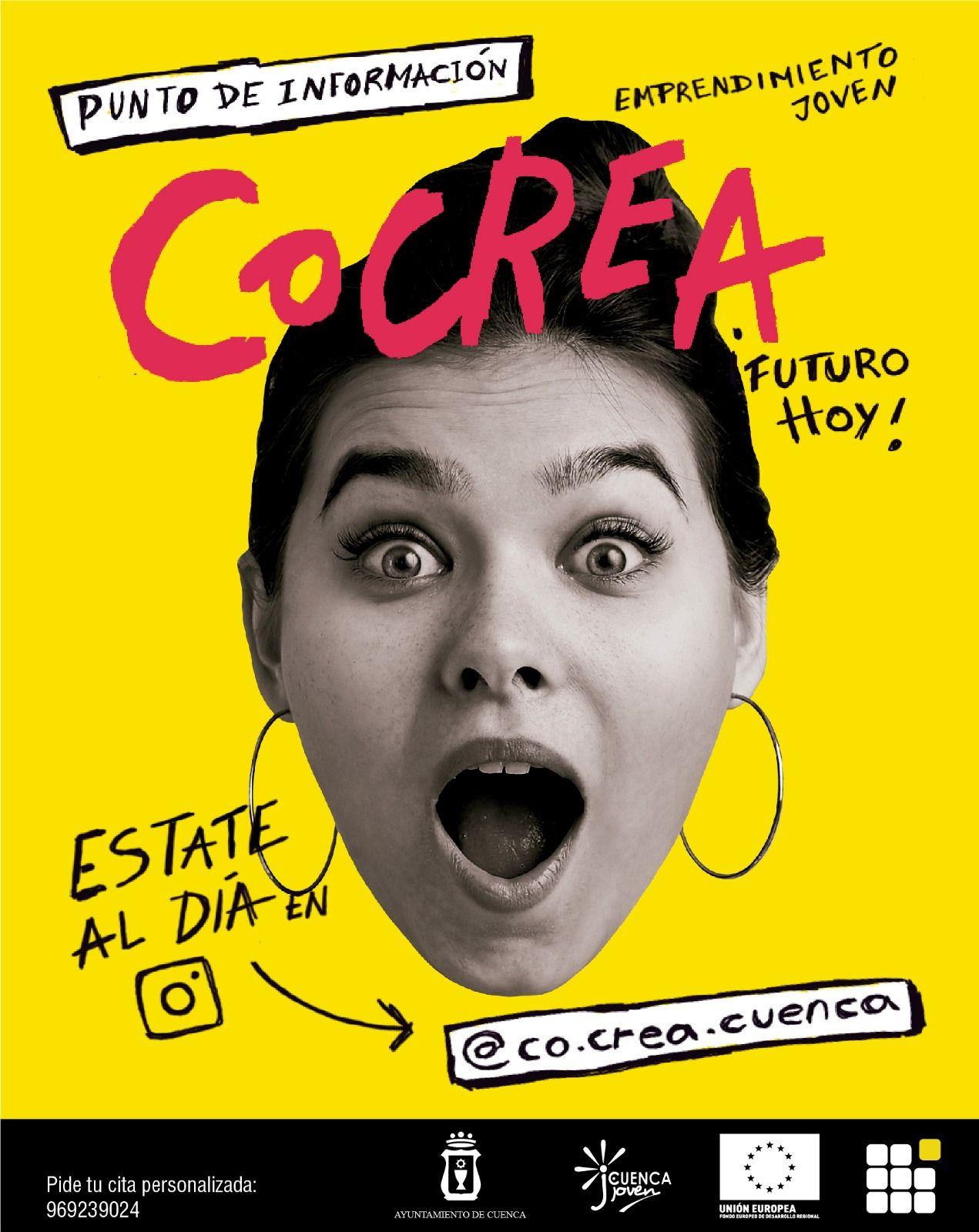 La Concejalía de Juventud pone en marcha CoCrea, punto de información y asesoramiento sobre formación y emprendimiento