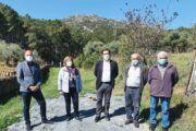 El Gobierno regional colabora con el Ayuntamiento de Puerto de San Vicente en la construcción de un pozo de suministro de agua portable