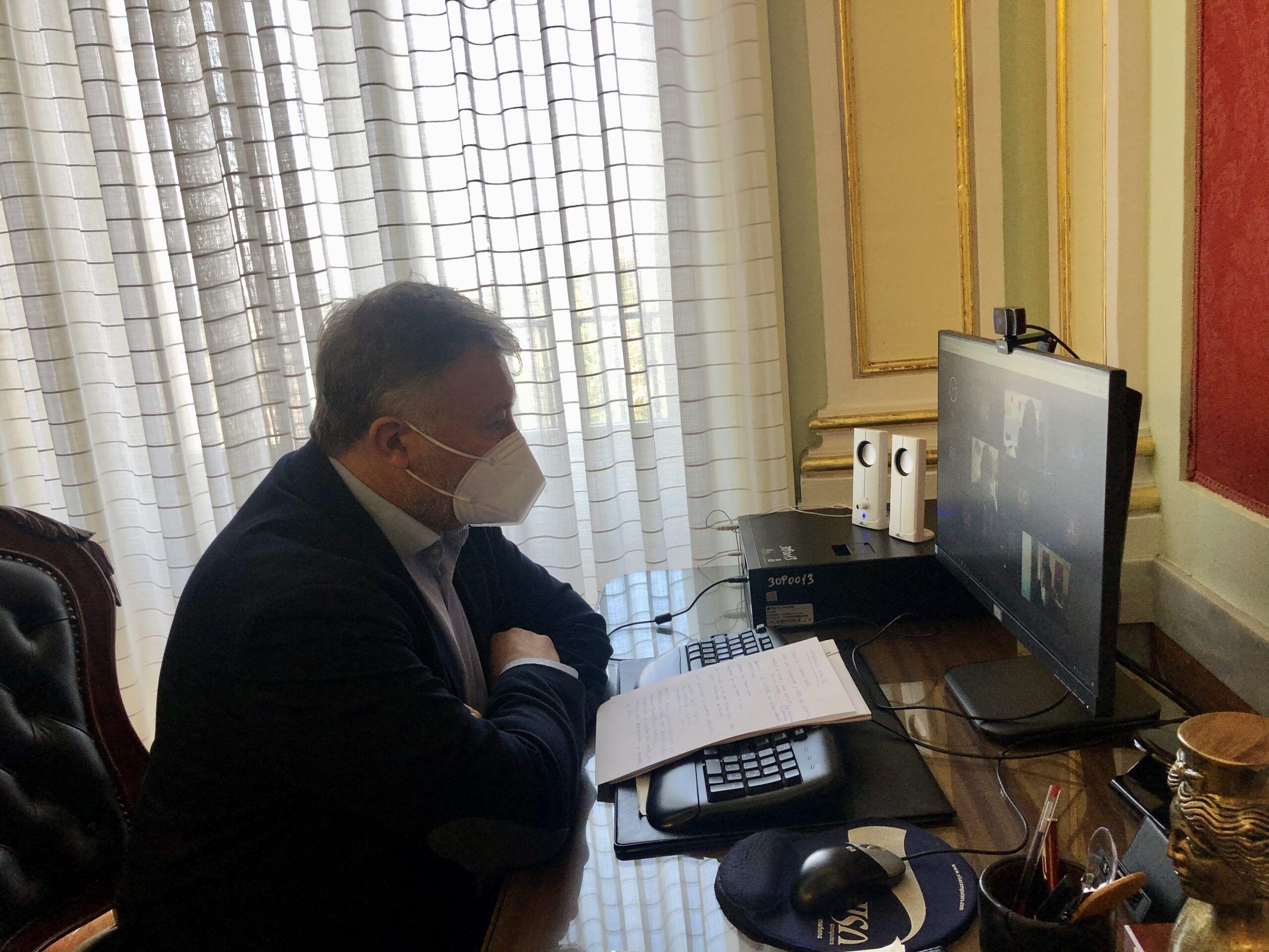 """El alcalde pide la implicación de todos para que Cuenca esté en el Nivel 3 de alerta sanitaria """"lo menos posible"""""""