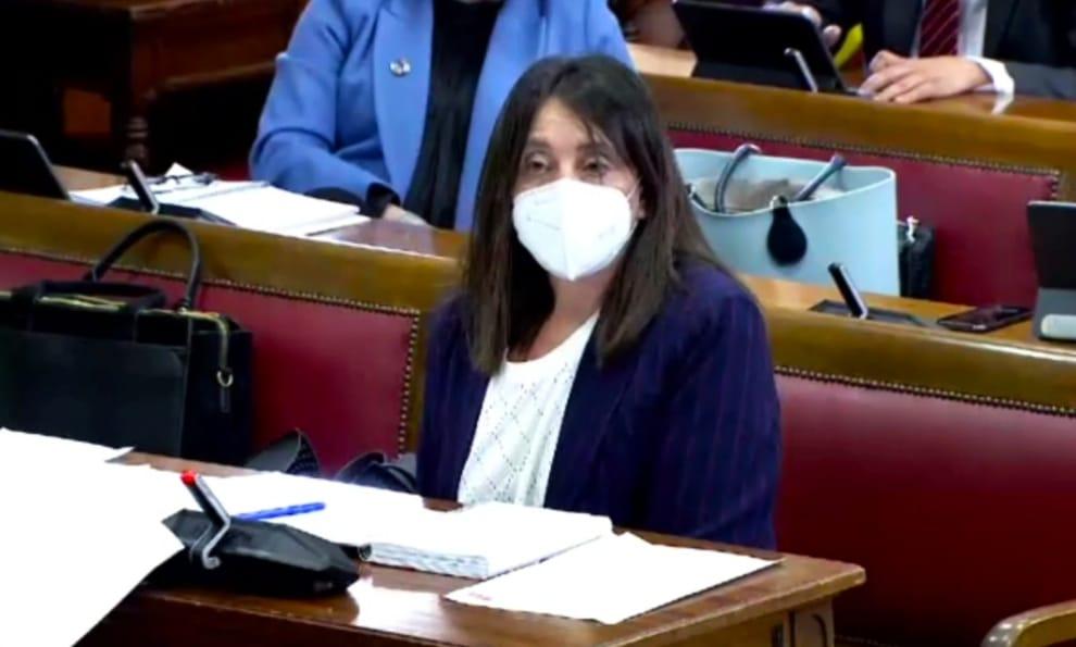 Donelia Roldán reivindica, desde el Senado, los derechos de las mujeres rurales