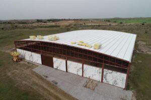 El Gobierno regional realiza obras en la cubierta del edificio de la Villa de Materno de Carranque para preservar los mosaicos romanos