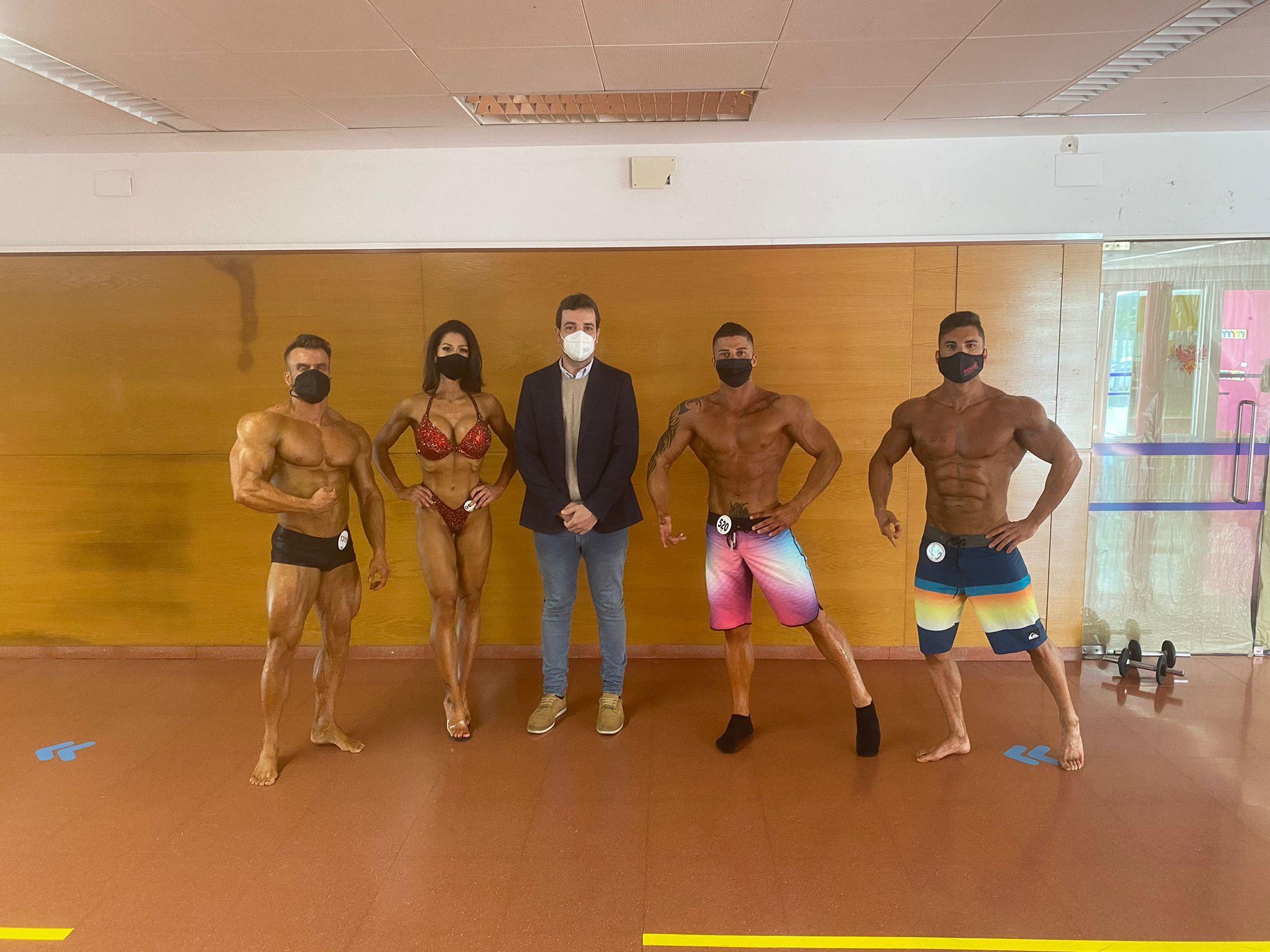 Los mejores atletas de fisioculturismo se dan cita en Toledo con apoyo municipal, en un torneo previo a Campeonato de Europa
