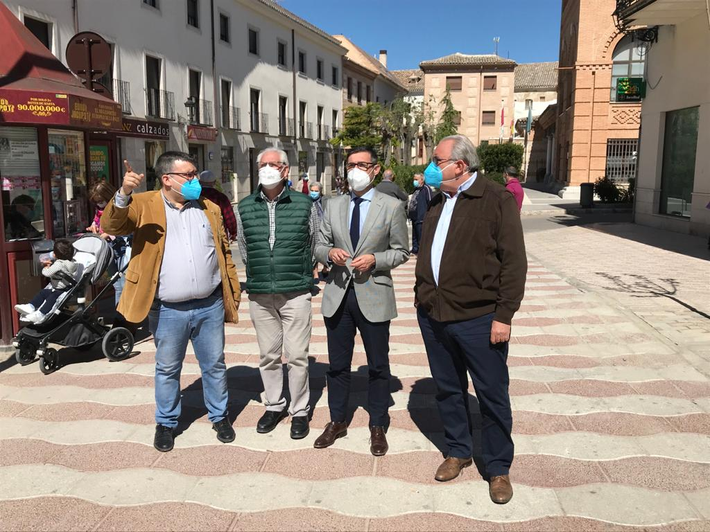 La Diputación de Toledo continuará financiando la renovación del alumbrado público de Ocaña