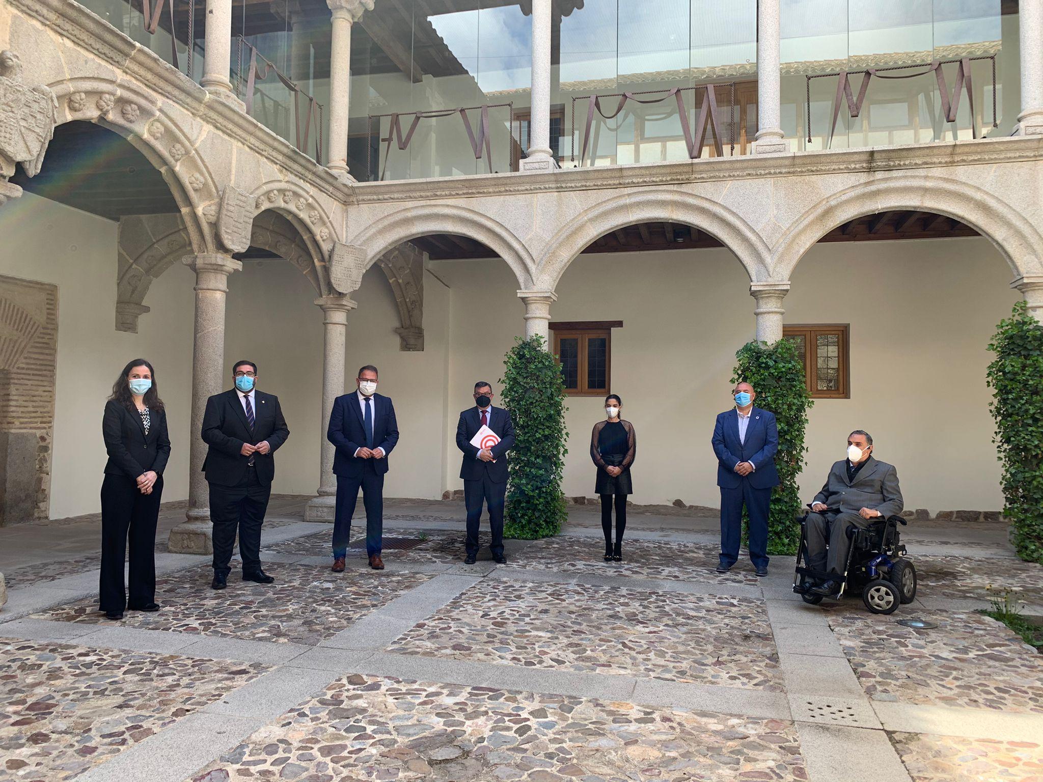 Toledo y las Ciudades Patrimonio apuestan por la inclusión y renuevan el convenio de colaboración con la Fundación ONCE