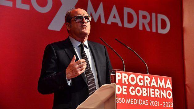 Gabilondo presenta un Programa de Gobierno con tres prioridades: la vacunación, la recuperación económica y la protección social