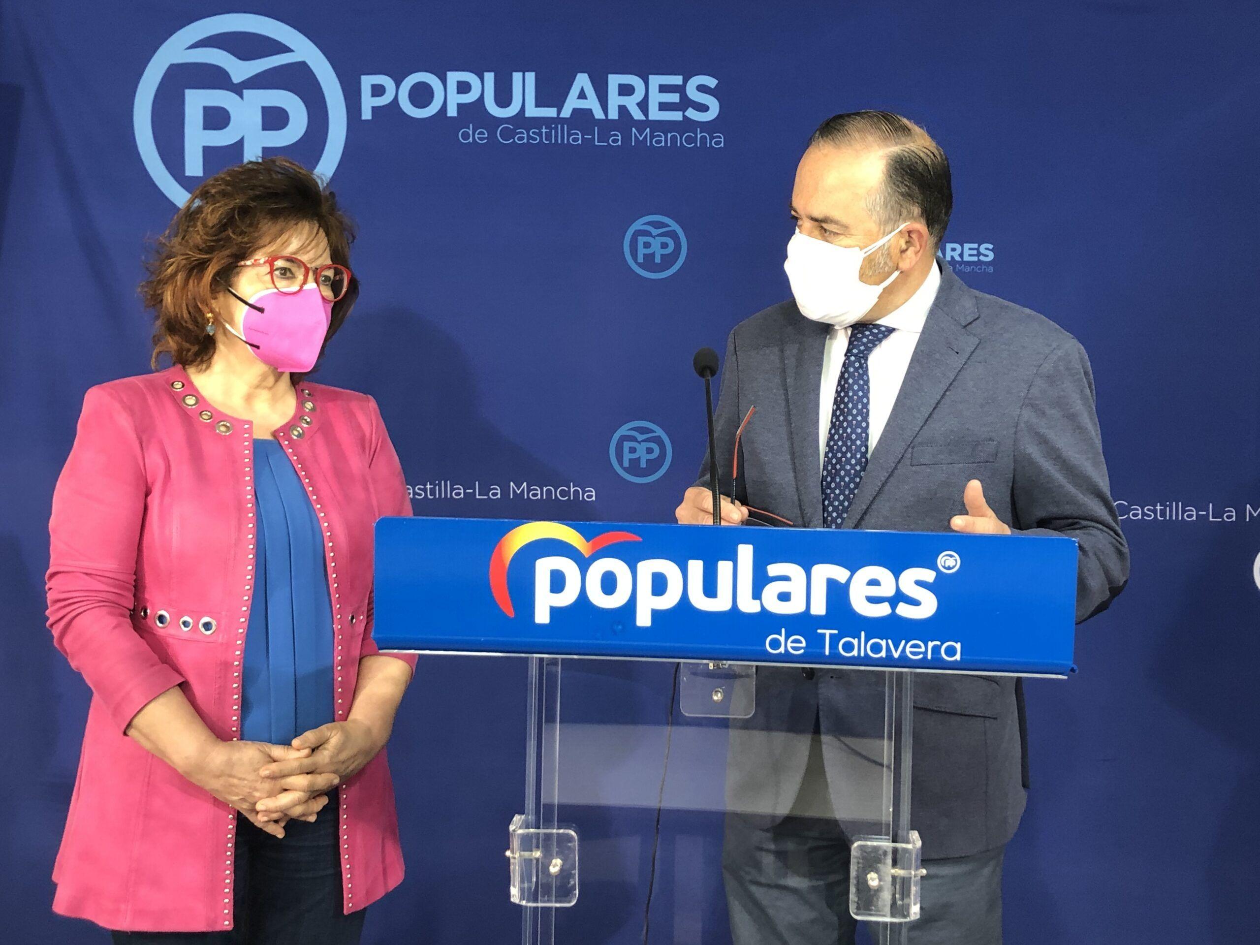 Gregorio y Riolobos critican que la alcaldesa no haya realizado ninguna gestión con el Gobierno de España para el desdoblamiento de la N-V