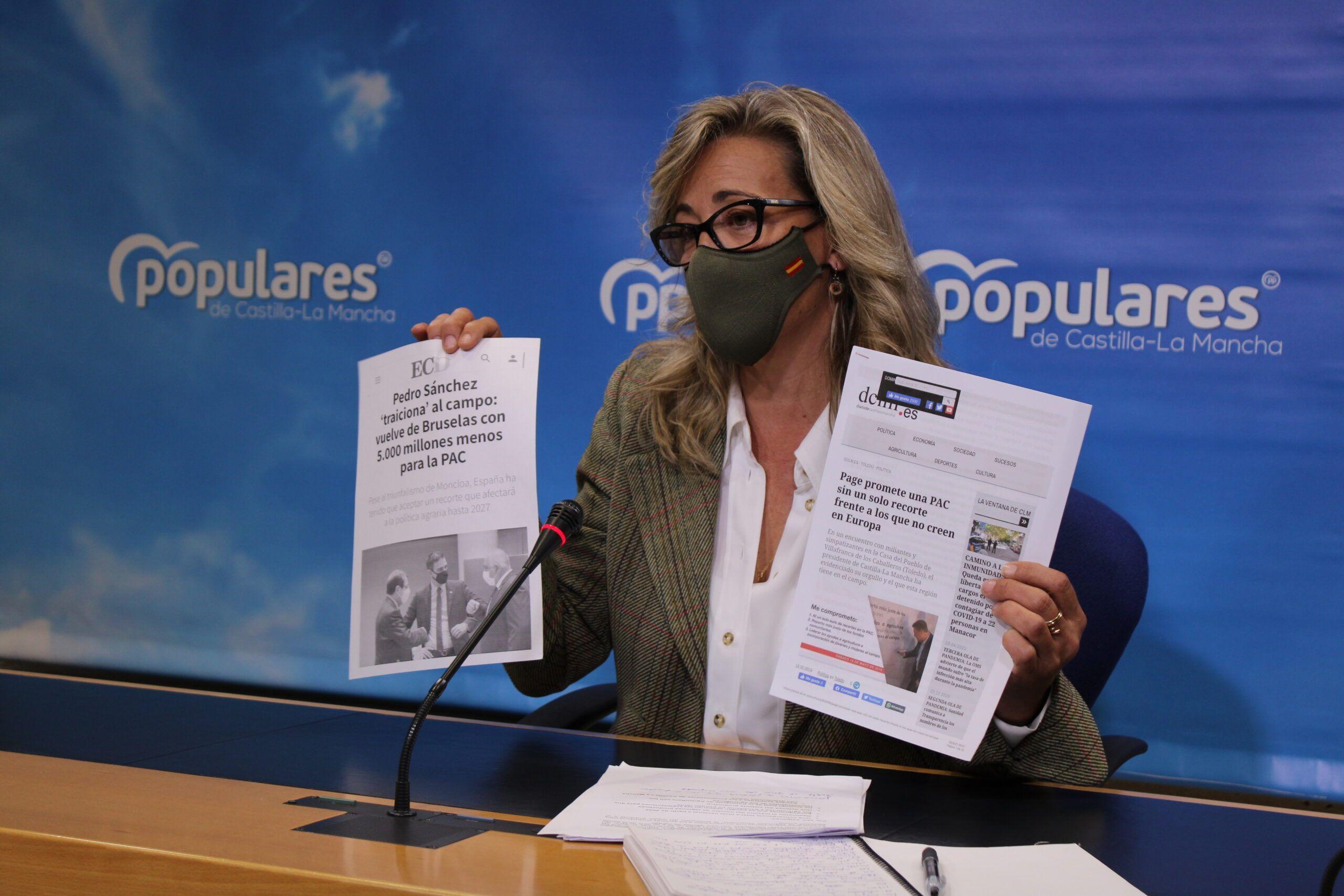 """Merino advierte que la situación del campo es insostenible: """"Page ha abandonado a los agricultores y ganaderos, y el mundo rural no vive de letras, anuncios y papeles"""""""