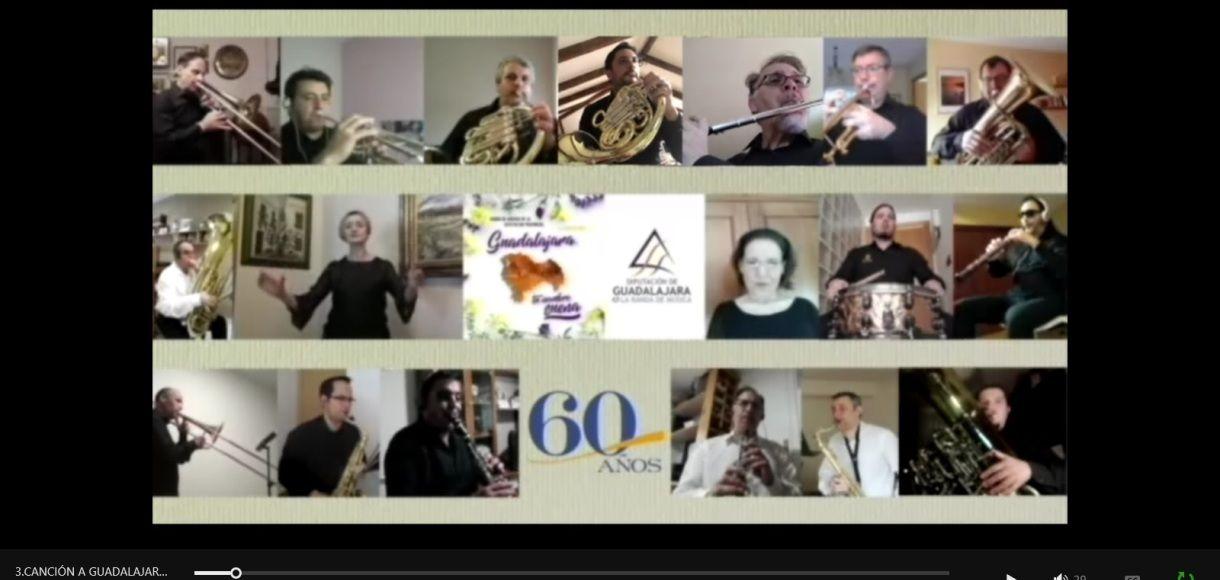 La Diputación de Guadalajara convoca 12 becas para su Banda de Música