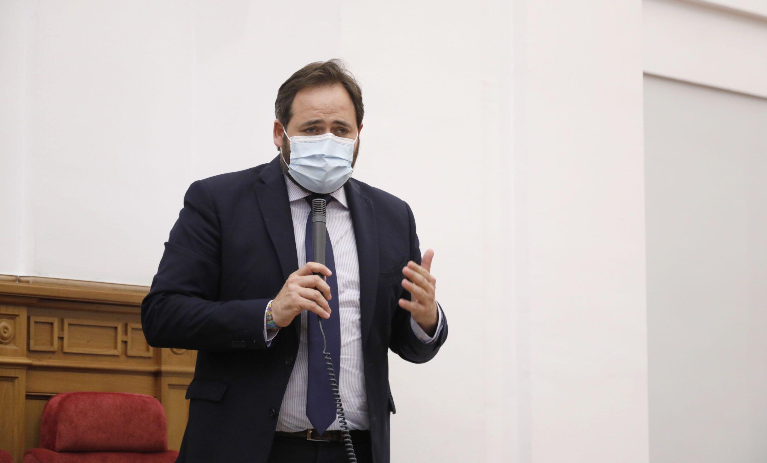 Núñez asegura que cuando Page habla de armonización fiscal lo que quiere es una 'Ley de Atraco Fiscal' a los castellano-manchegos