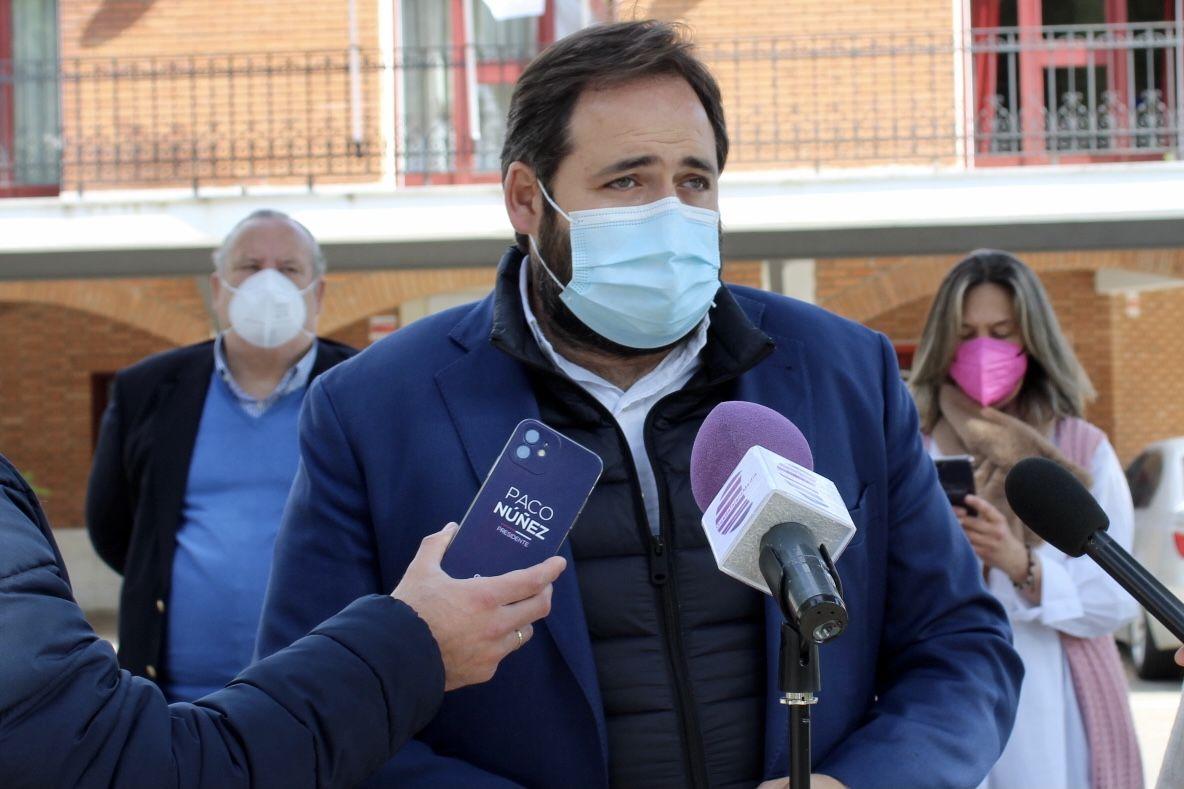 Núñez lamenta que con la Ley de Armonización Fiscal de Page los castellano-manchegos pagarán más impuestos