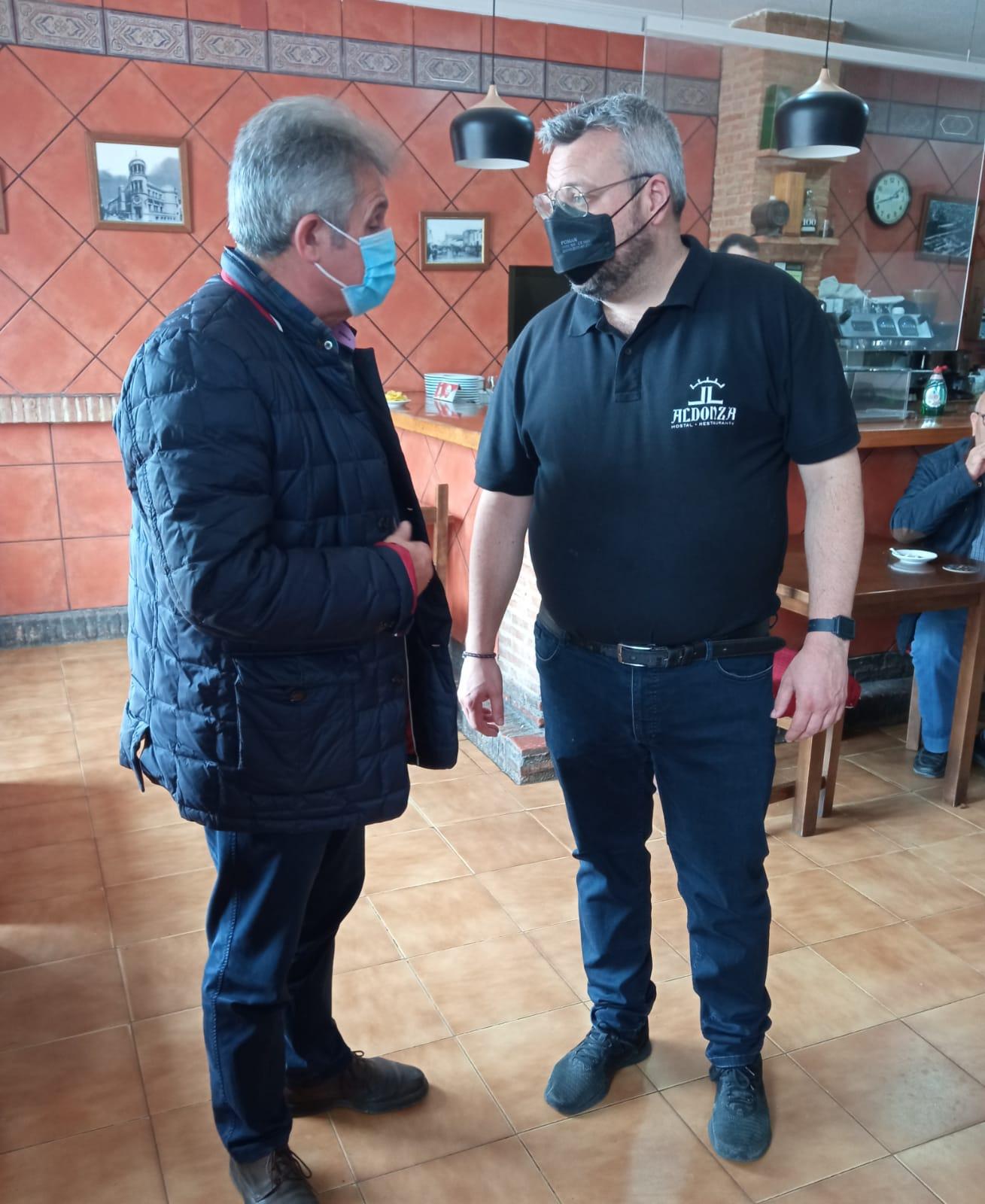 El PP de la Diputación de Toledo muestra su apoyo al sector de la hostelería provincial, crucial para la economía de nuestros pueblos