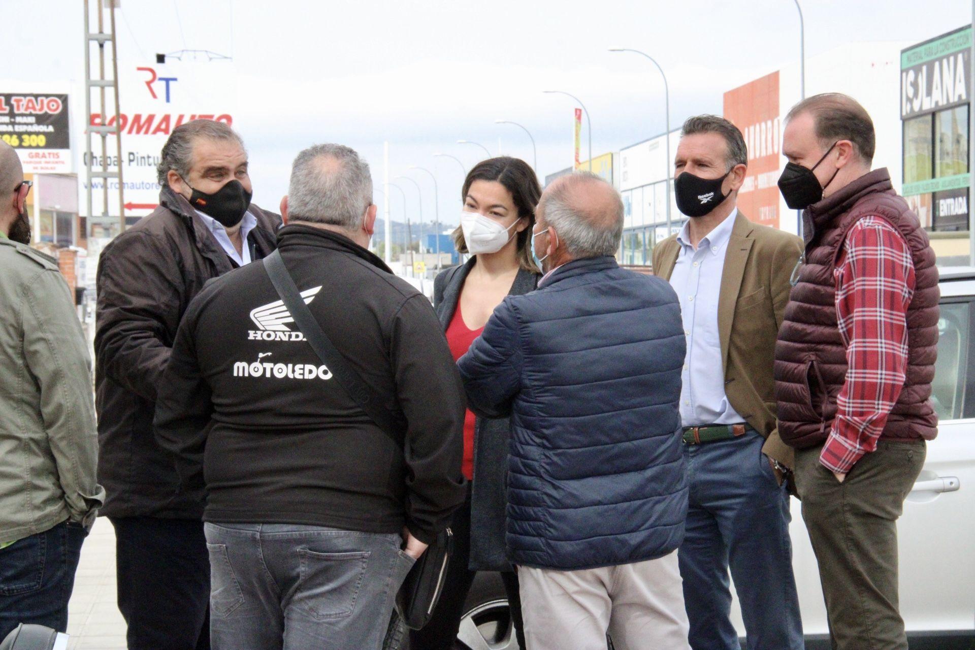 """Alonso: """"Necesitamos el mejor Polígono Industrial posible para atraer las mejores inversiones posibles a Toledo"""""""