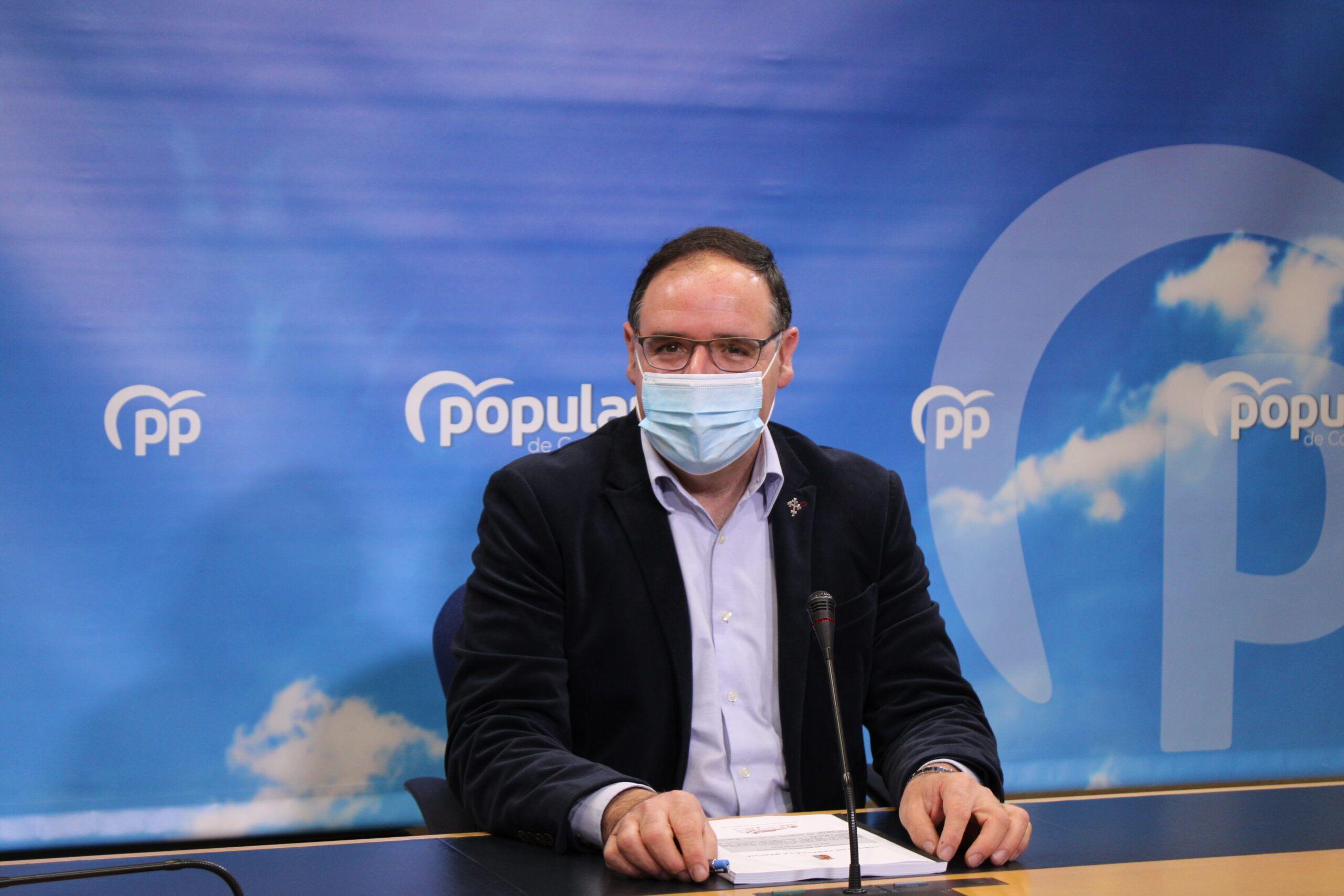 """Prieto defiende las 56 enmiendas que el PP-CLM ha presentado a la Ley frente a la Despoblación: """"Es el momento de que merezca la pena vivir y desarrollar un proyecto de vida en CLM"""""""