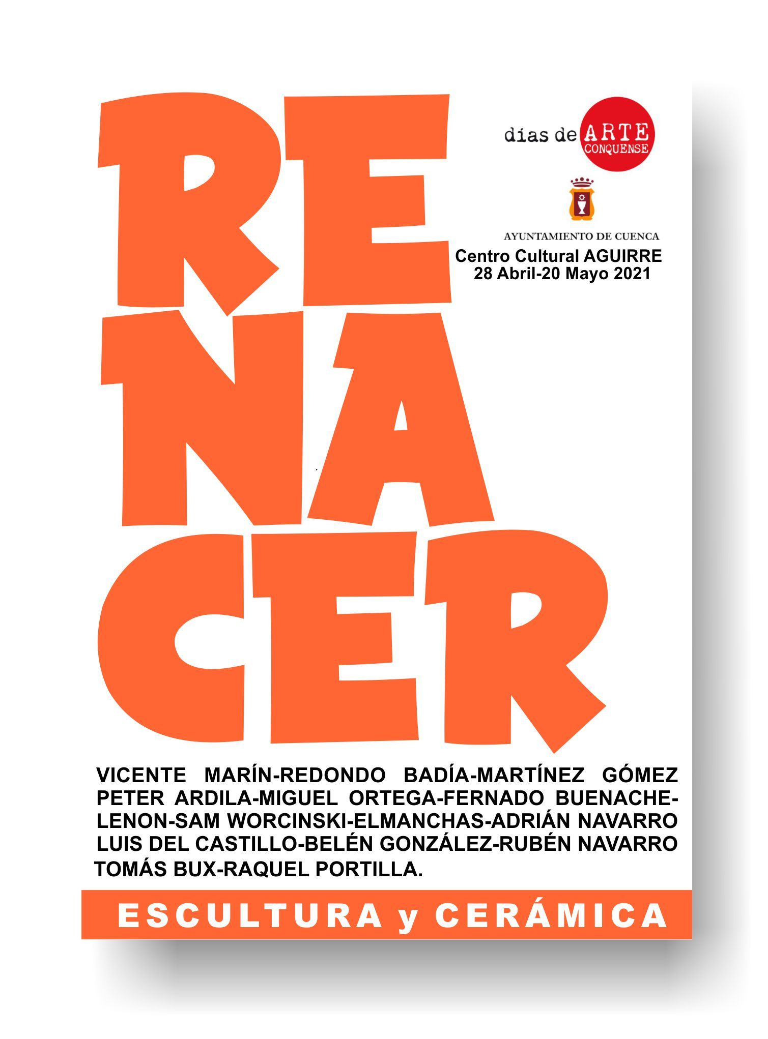 La sala de exposiciones del Centro Cultural Aguirre de Cuenca inaugura su tercera muestra de RENACER
