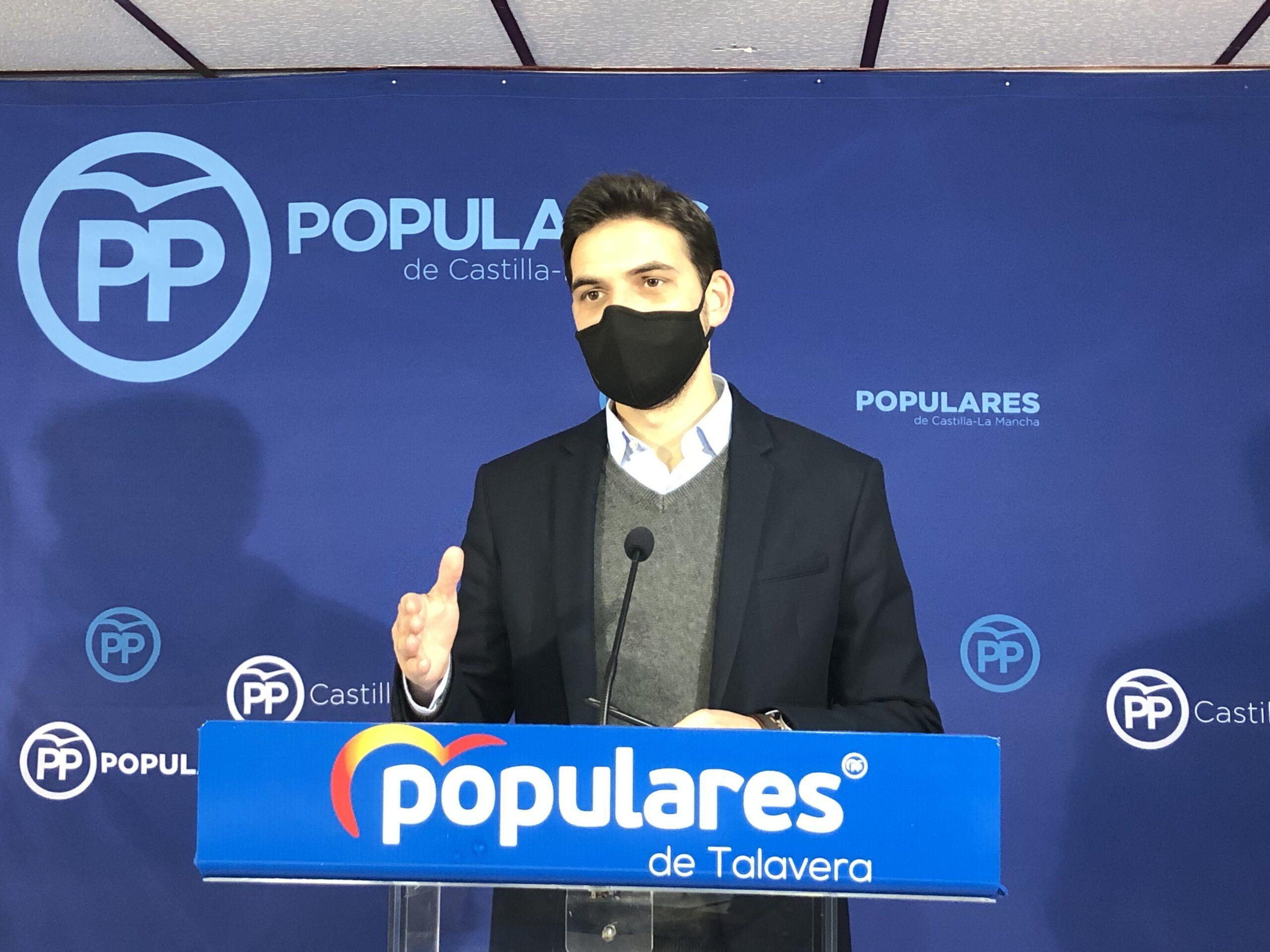 """Serrano: """"Agustina García presume de superávit mientras las empresas están en caída libre porfalta de ayudas"""""""