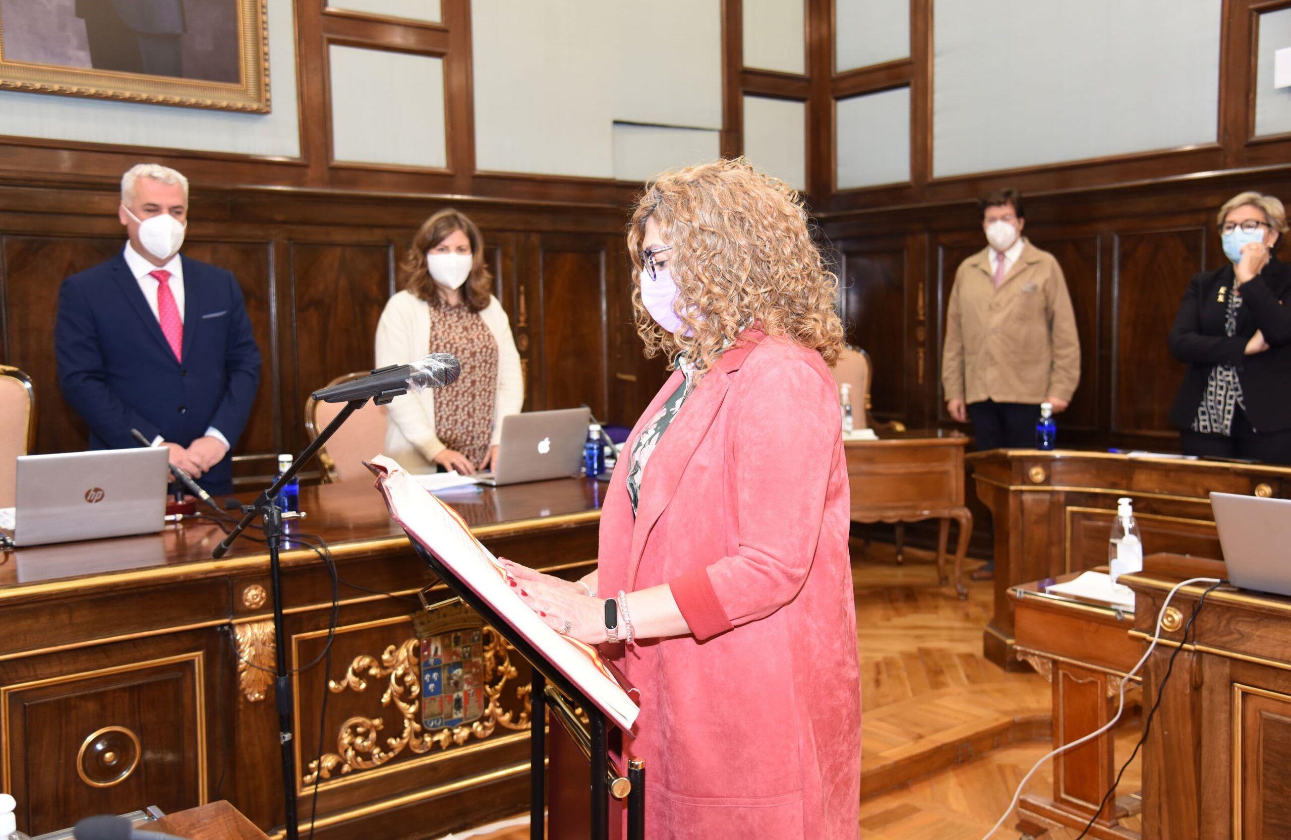 Sonsoles Rico toma posesión como nueva diputada provincial de Guadalajara