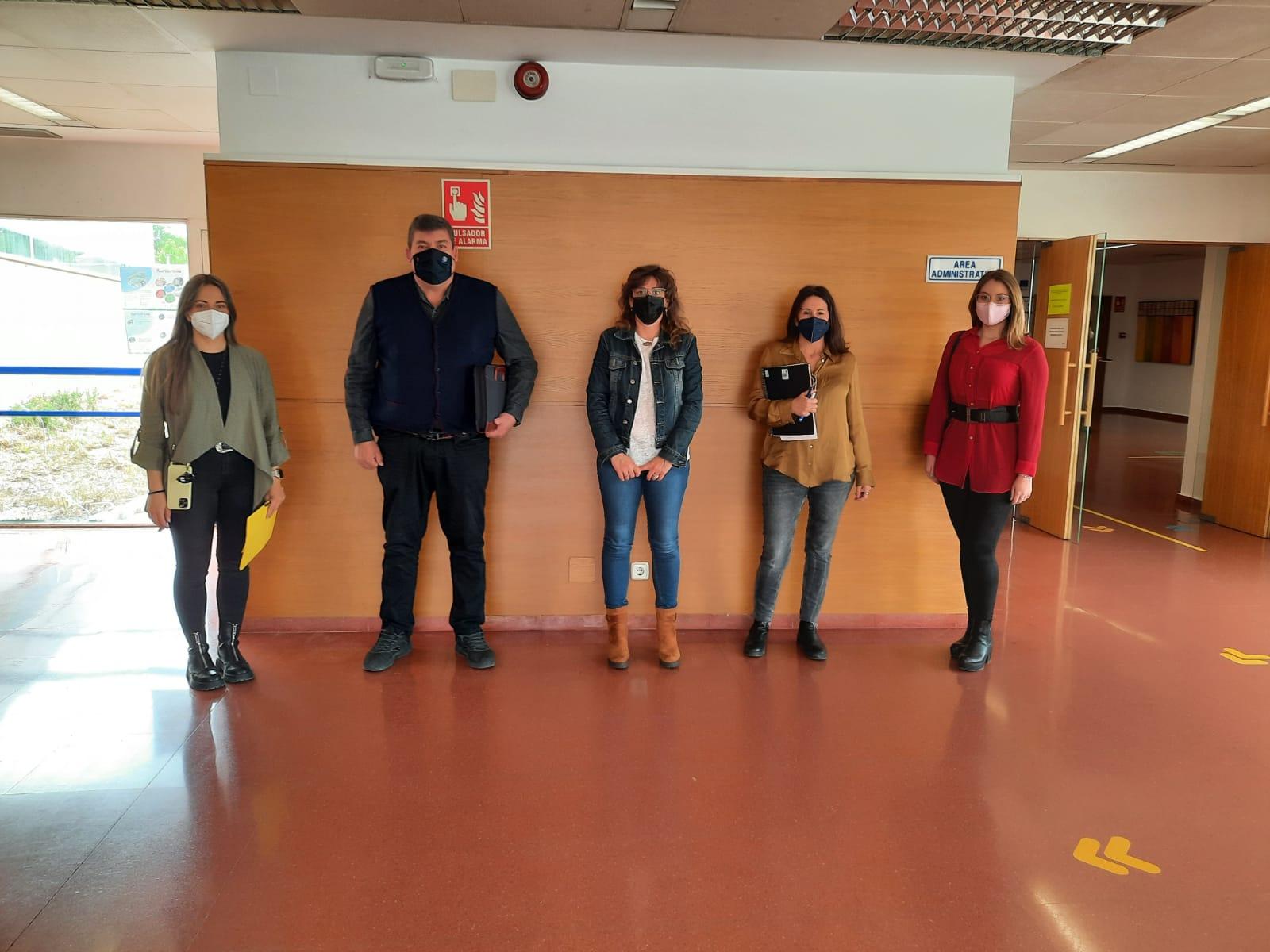 """Los """"Talleres frente al COVID-19"""" informan de los protocolos de seguridad en los colegios del Polígono para evitar el absentismo"""