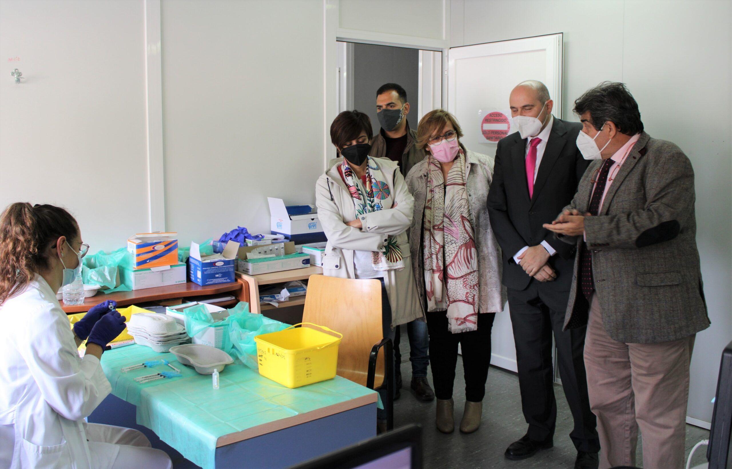 La Gerencia Integrada de Puertollano del Servicio de Salud de Castilla-La Mancha supera las 25.000 vacunas administradas contra la COVID-19