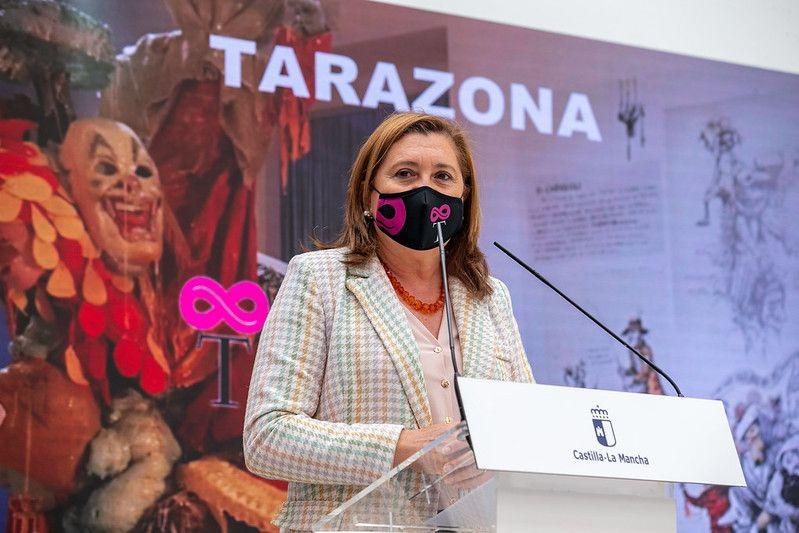 """El Gobierno regional destaca que el Centro de Interpretación del Patrimonio Local y del Carnaval de Tarazona será un revulsivo """"económico y cultural"""" para el municipio"""