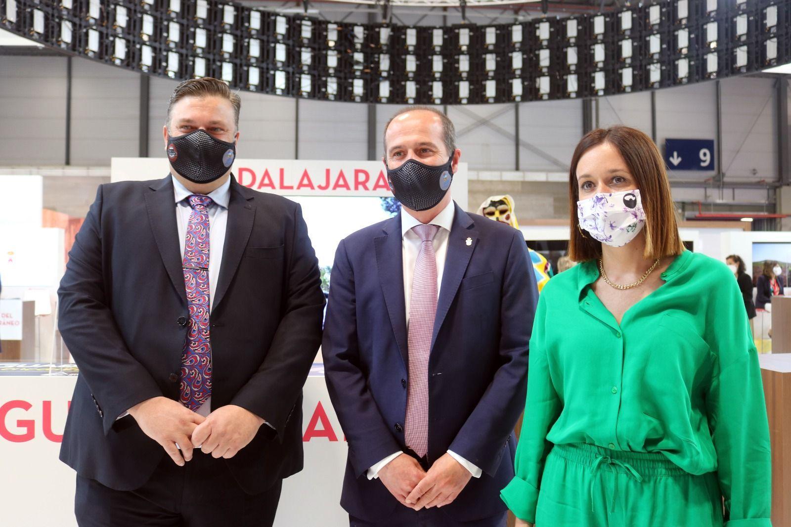 Guadalajara se ofrece en FITUR como la puerta ideal para conocer la provincia