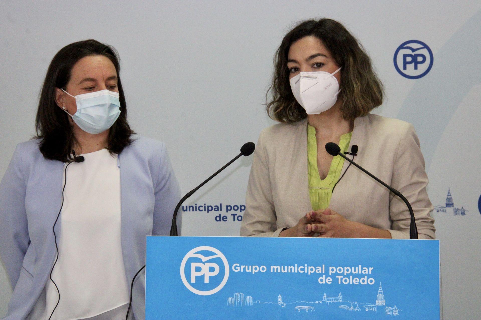 El PP propone suprimir por completo la tasa de terrazas y bajar el IBI, el ICIO, la basura y hasta cinco impuestos y tasas más para ayudar a los toledanos que peor lo están pasando