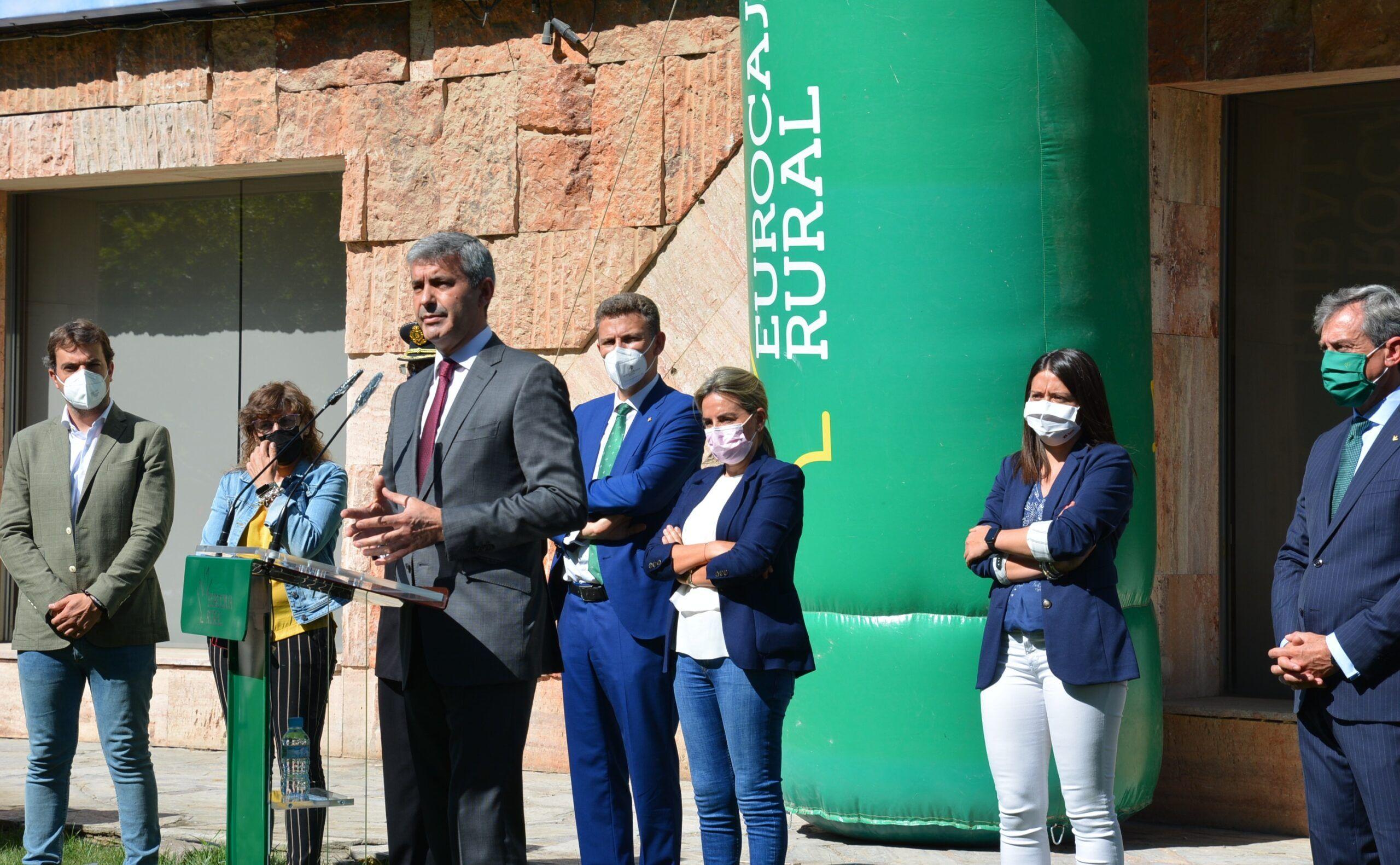 Álvaro Gutiérrez destaca el compromiso de su Gobierno con asociaciones y entidades solidarias de la provincia