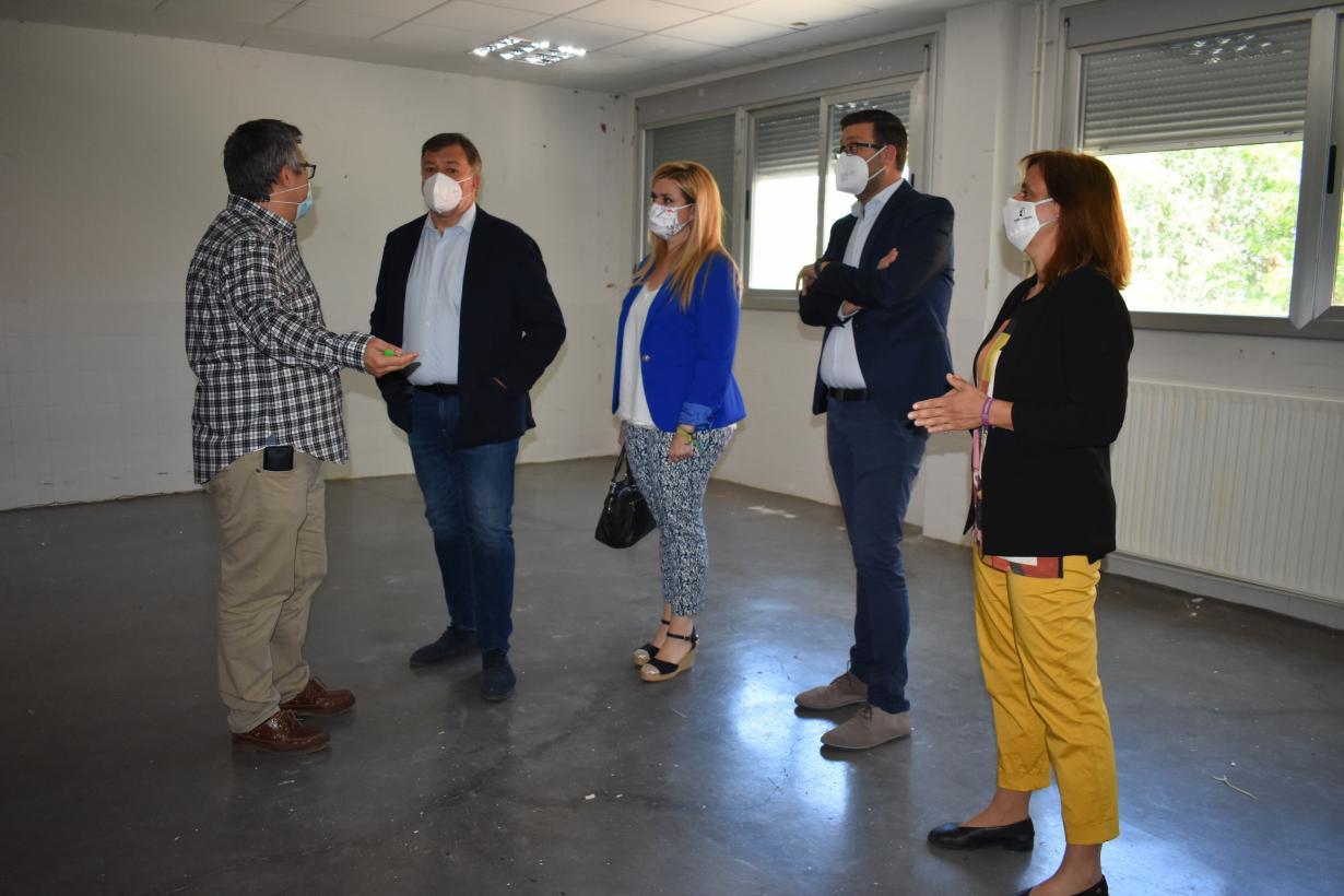 El Gobierno regional comenzará la remodelación del centro que albergará los estudios superiores de arte dramático en Cuenca a lo largo del verano