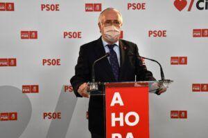 """Francisco Pérez: """"El PP se ha dado cuenta de que la pandemia ya no es un filón para conseguir votos y ahora pasa a alarmar en materia fiscal"""""""