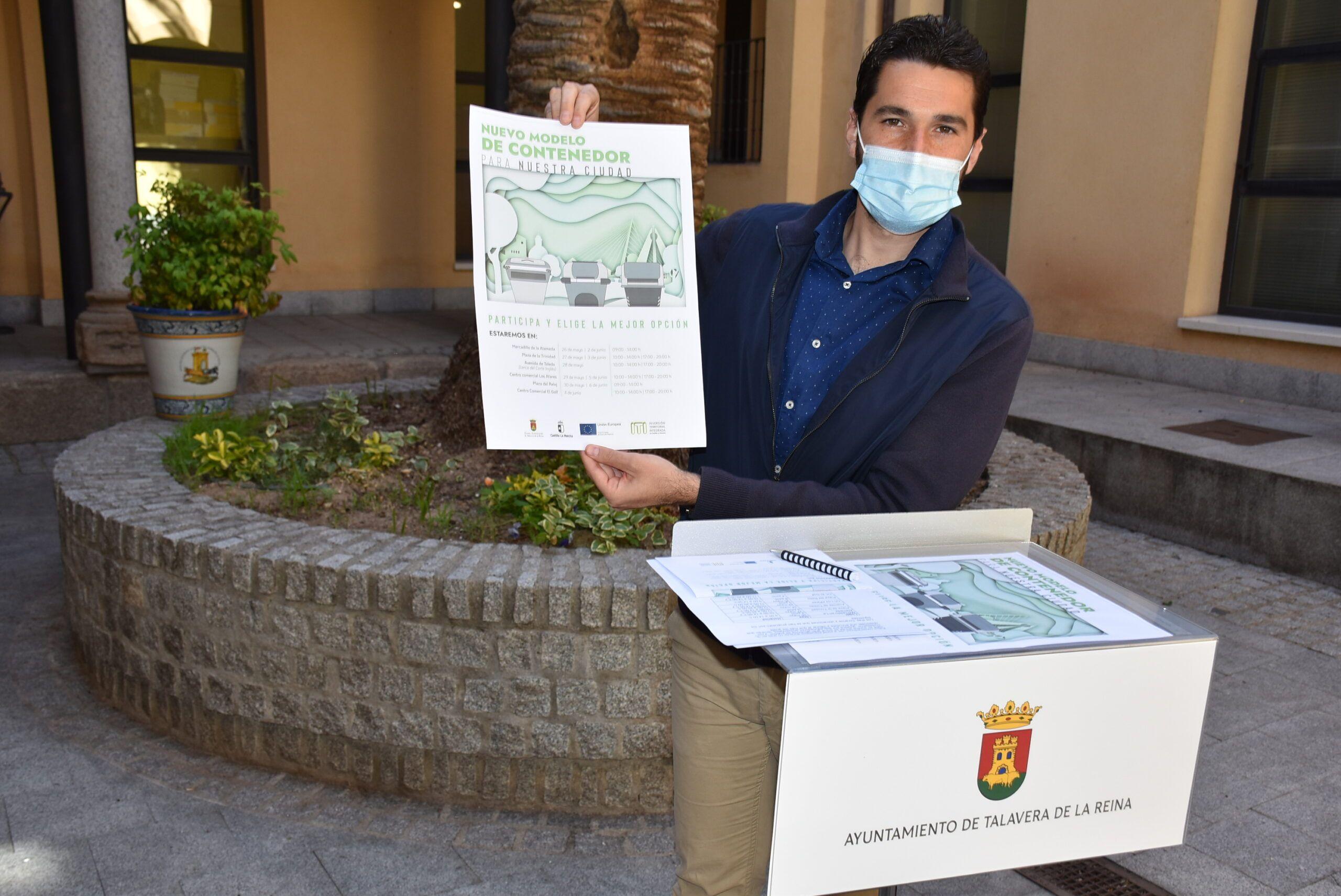 El Gobierno de Talavera implica a la ciudadanía en la elección de los nuevos contenedores, con una línea más sostenible y que da pasos hacía la economía circular