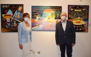 """Los """"Criptogramas"""" de Joaquín Ferrer se exponen en el Centro Cultural San Clemente con evocaciones musicales"""