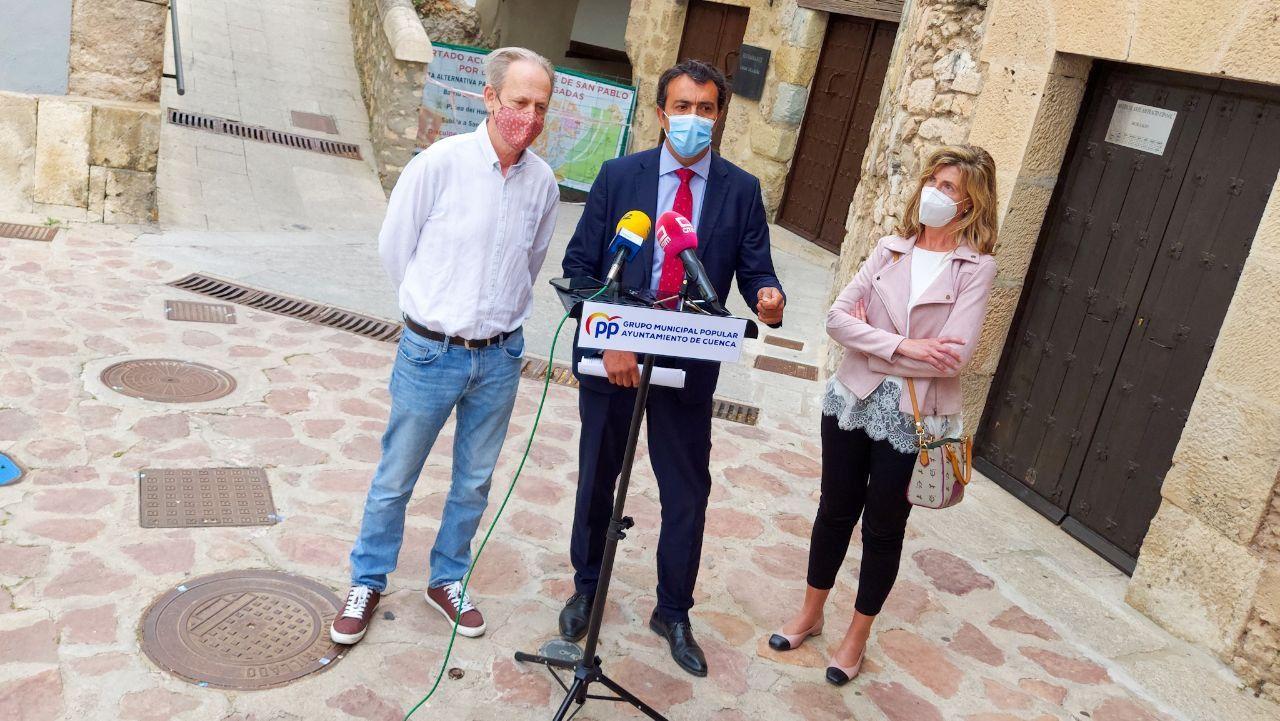 El Grupo Popular acusa al alcalde de
