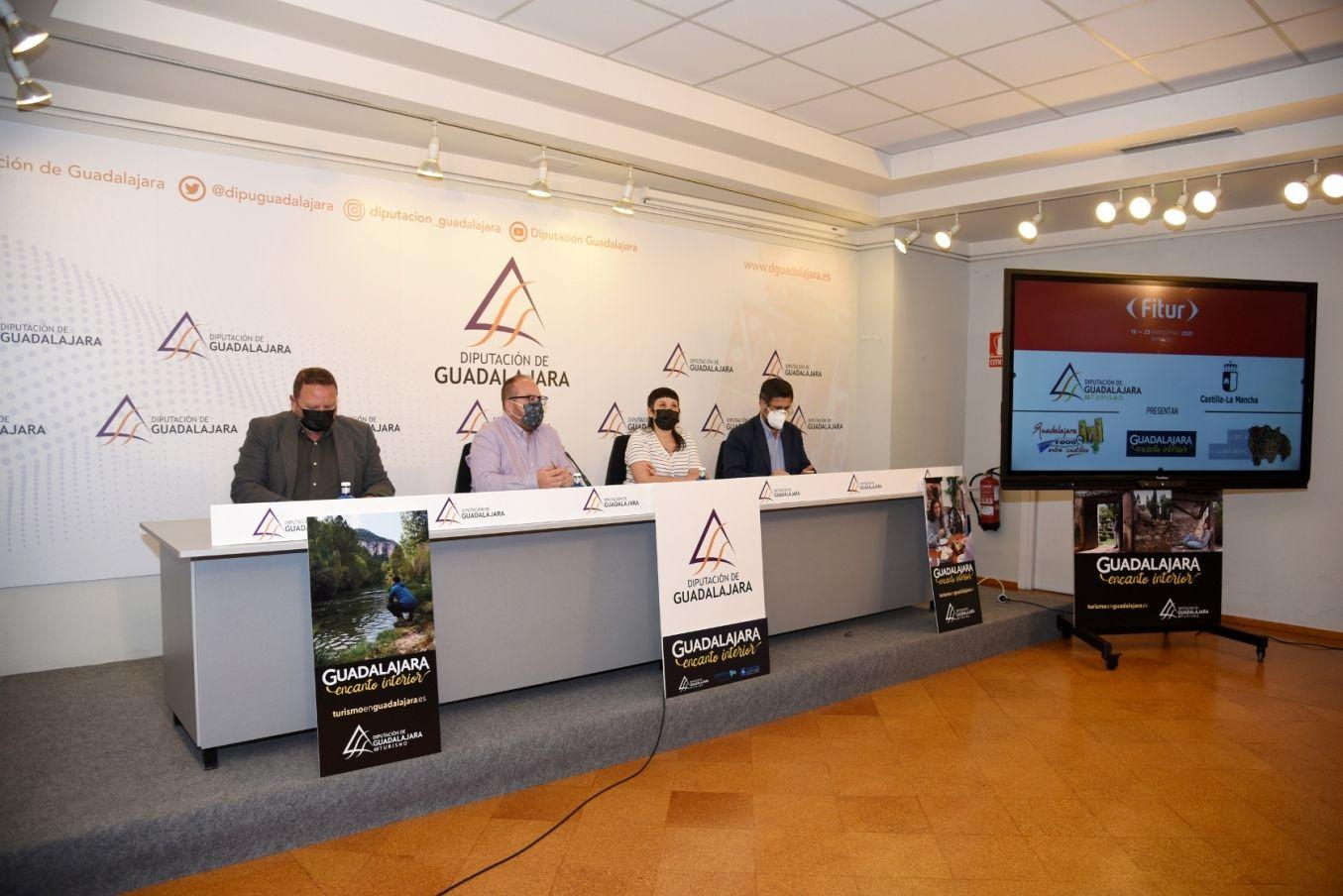 La Diputación promocionará los encantos de Guadalajara en FITUR con una APP y dos nuevas rutas turísticas