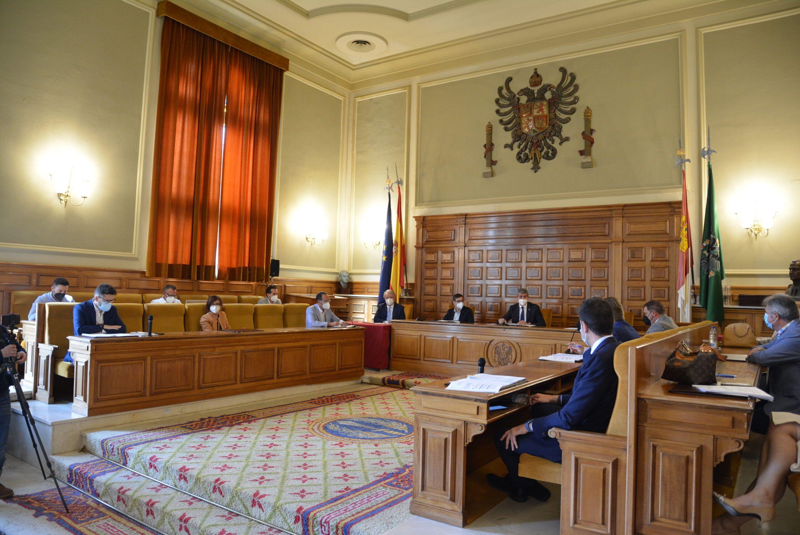 Los ayuntamientos podrán pedir la semana que viene las ayudas para el estímulo económico municipal de la Diputación