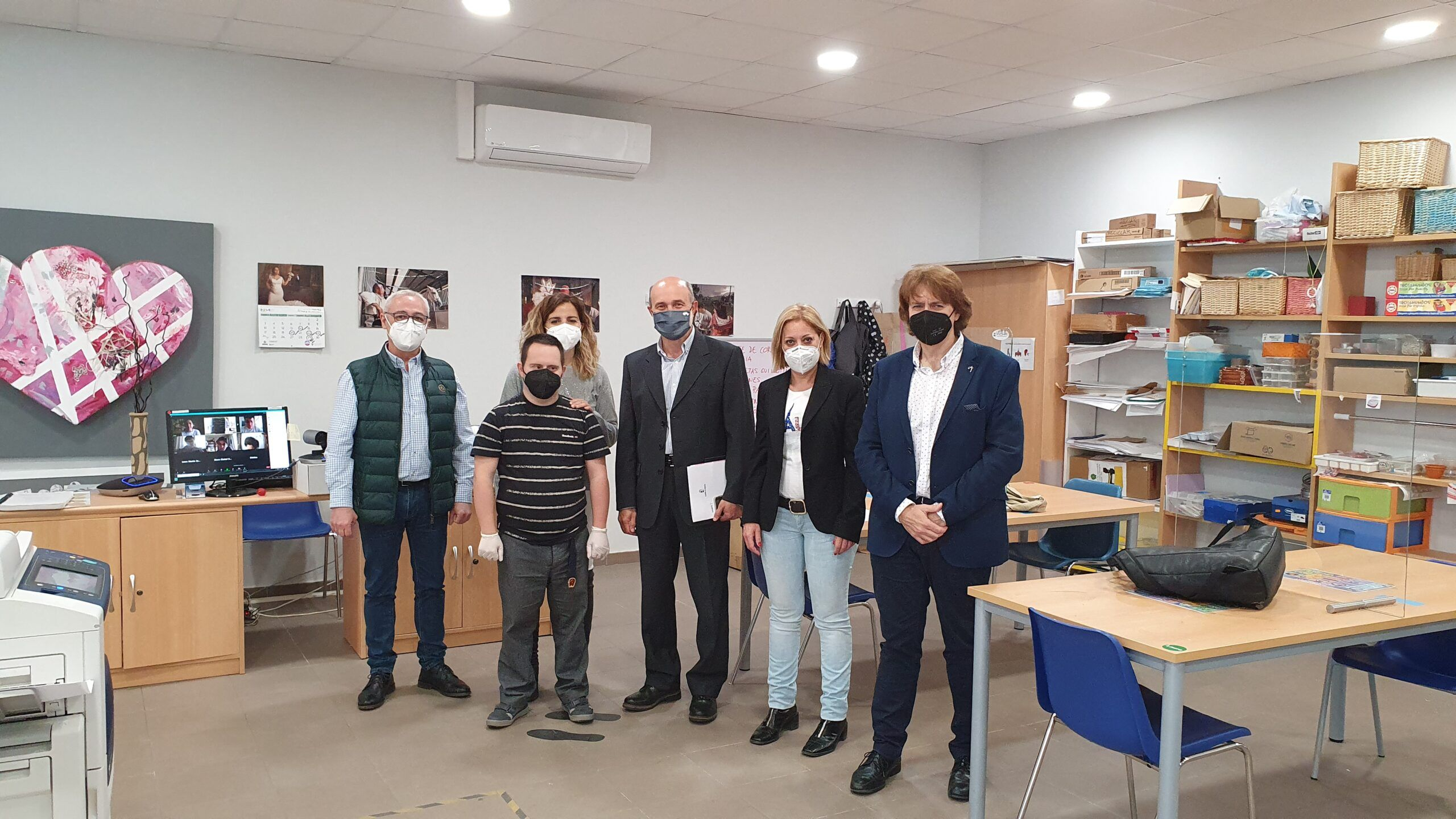 Un plan de empleo del Gobierno de Castilla-La Mancha permite a Down Caminar contratar técnicos para dar un mejor servicio a sus asociados