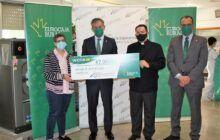 Fundación Eurocaja Rural entrega 7.000 euros a Fundación Madre de la Esperanza, generando empleo para personas con discapacidad en su servicio de lavandería industrial