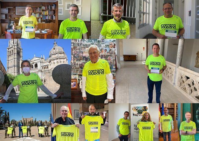 Toledo y Madrid trasladan su sensibilidad en las primeras pruebas de la 'Carrera Solidaria' de Fundación Eurocaja Rural en beneficio de Mensajeros de la Paz
