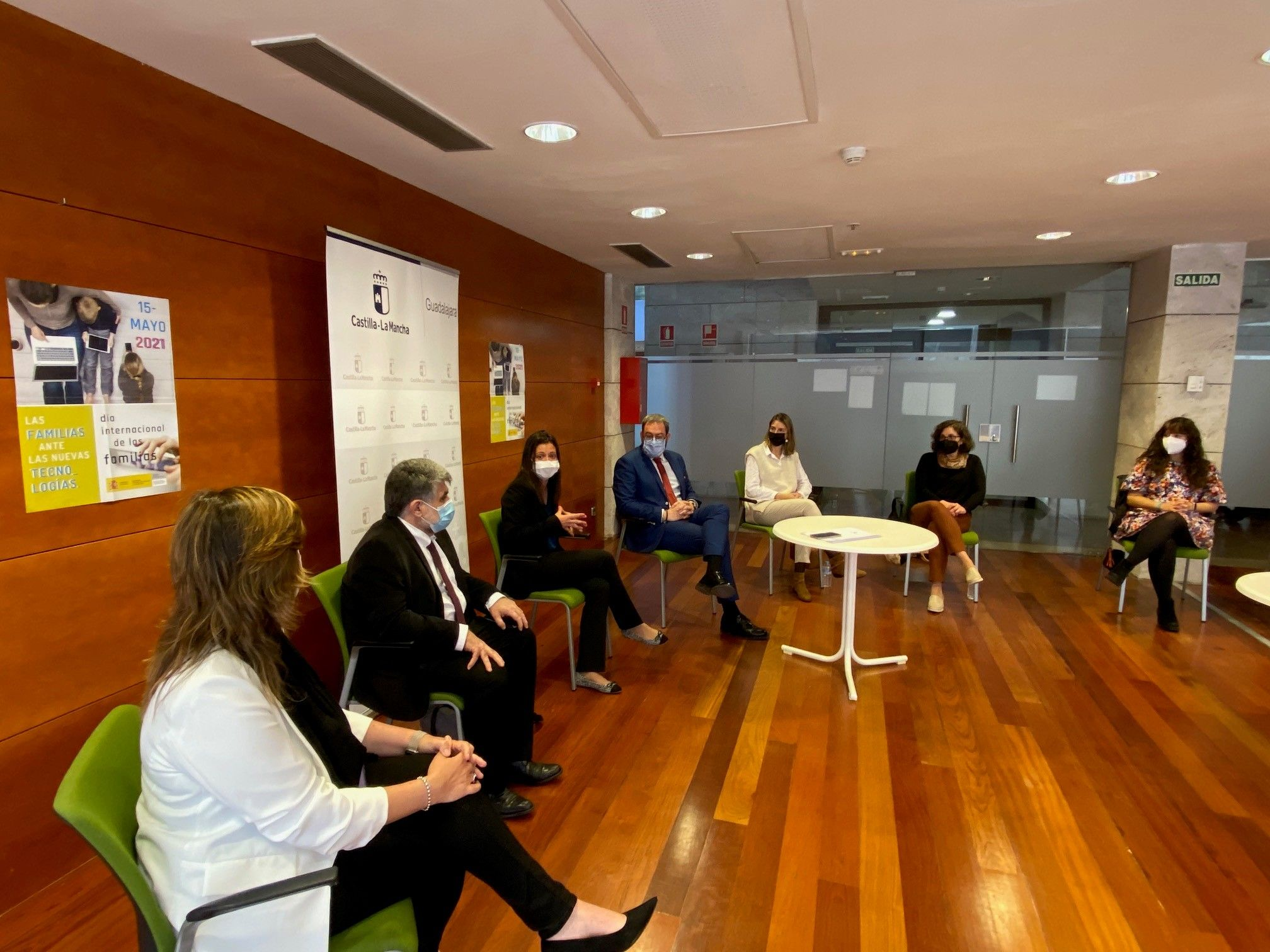 El Gobierno de Castilla-La Mancha celebra el Día Internacional de las Familias con un encuentro con entidades de Infancia y Familia en Guadalajara