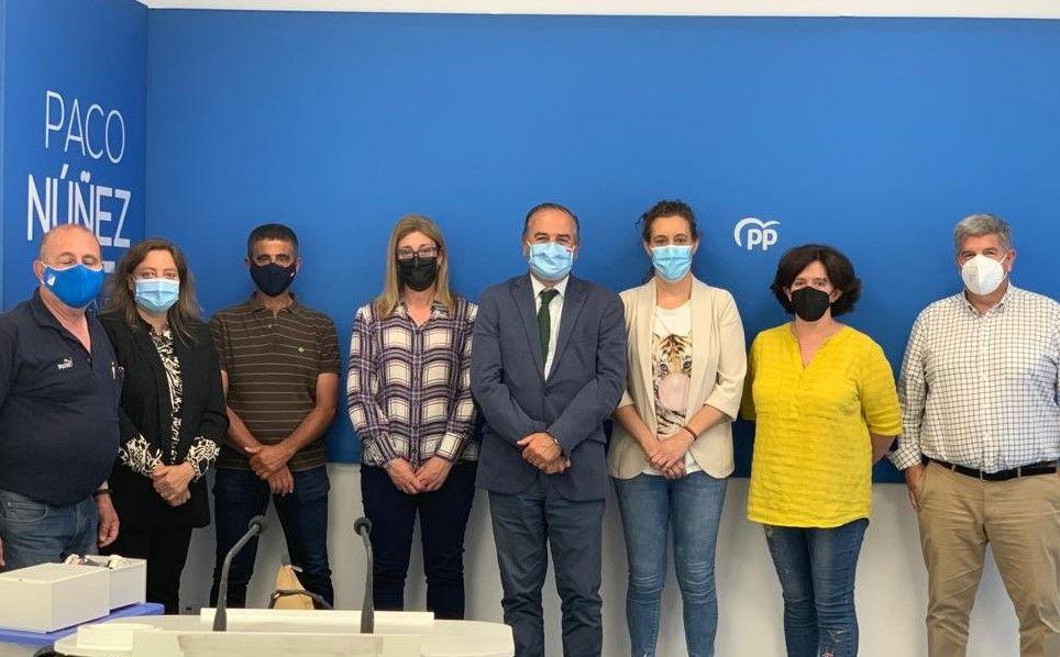 Gregorio apoya al PP de Sonseca que pide soluciones al problema de depuración, tras una última sanción al Ayuntamiento de 130.000 euros
