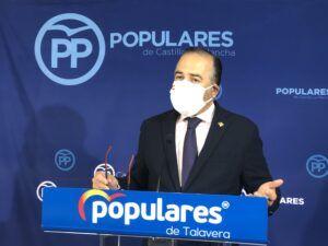 """Gregorio: """"Mientras el PP tiene un plan económico de rebaja fiscal, Page apoya a Sánchez en la subida de impuestos"""""""