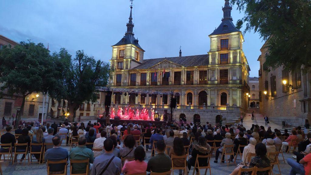 Las Noches Toledanas impulsan con éxito y responsabilidad la recuperación cultural en escenarios al aire libre y seguros