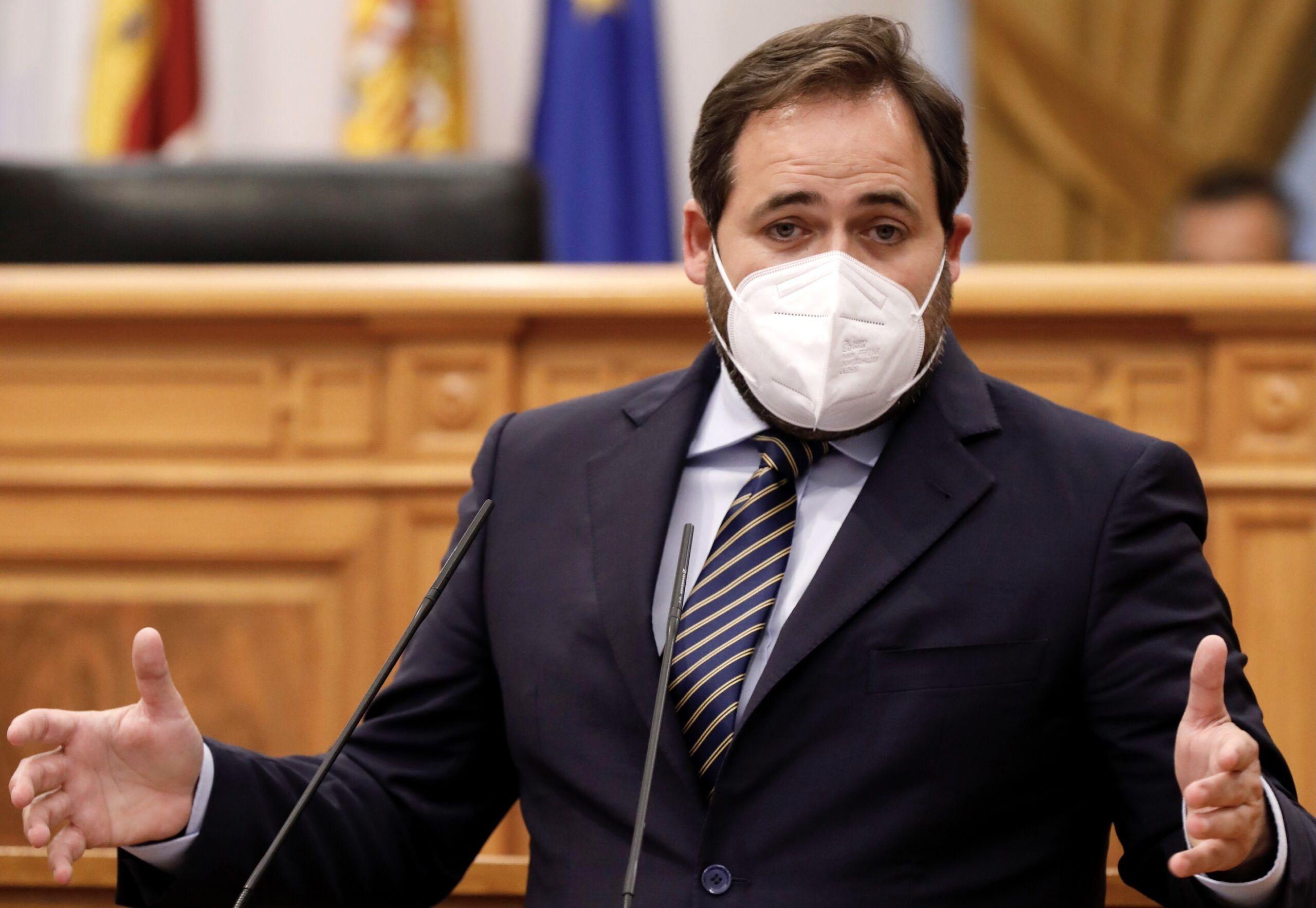 Núñez advierte a Page que el PP nunca estará a su lado para subir impuestos a los castellano-manchegos
