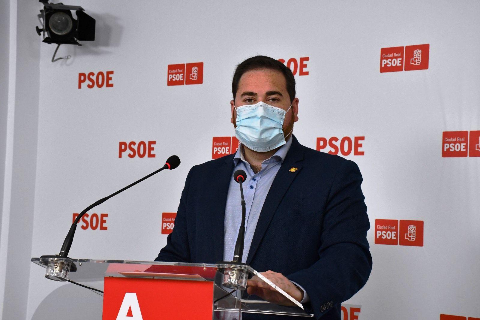 """Pablo Camacho: """"Según el Ministerio de Sanidad, C-LM es de las regiones que más invierten contra la pandemia, que menos incidencia tiene y mejor ritmo de vacunación"""""""