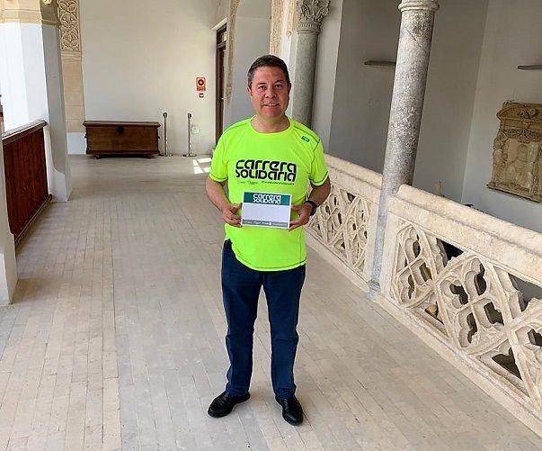 García-Page transmite su apoyo a la 'IX Carrera Solidaria' de Fundación Eurocaja Rural