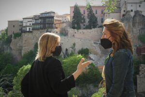 """Picazo exige una investigación para """"depurar responsabilidades"""" por el derrumbe en el Casco Histórico de Cuenca"""
