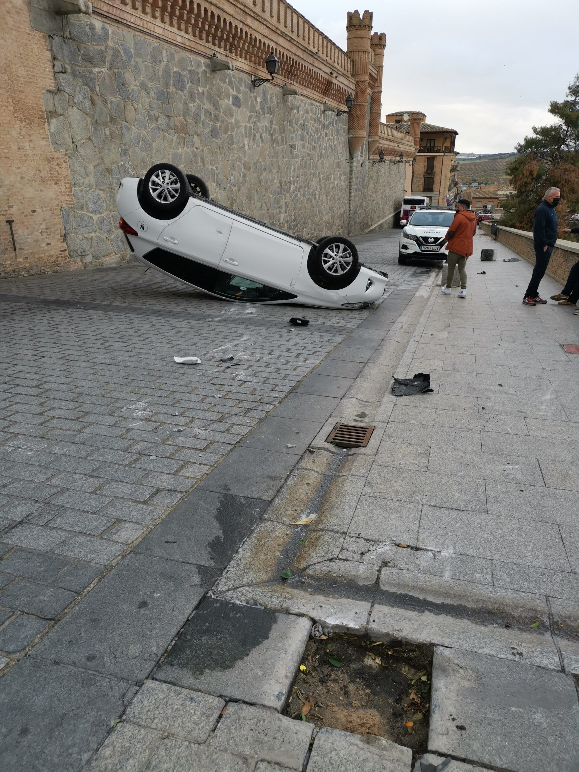 """La Policía Local interpone en Toledo capital un total de 43 denuncias en """"un fin de semana bastante normal"""""""