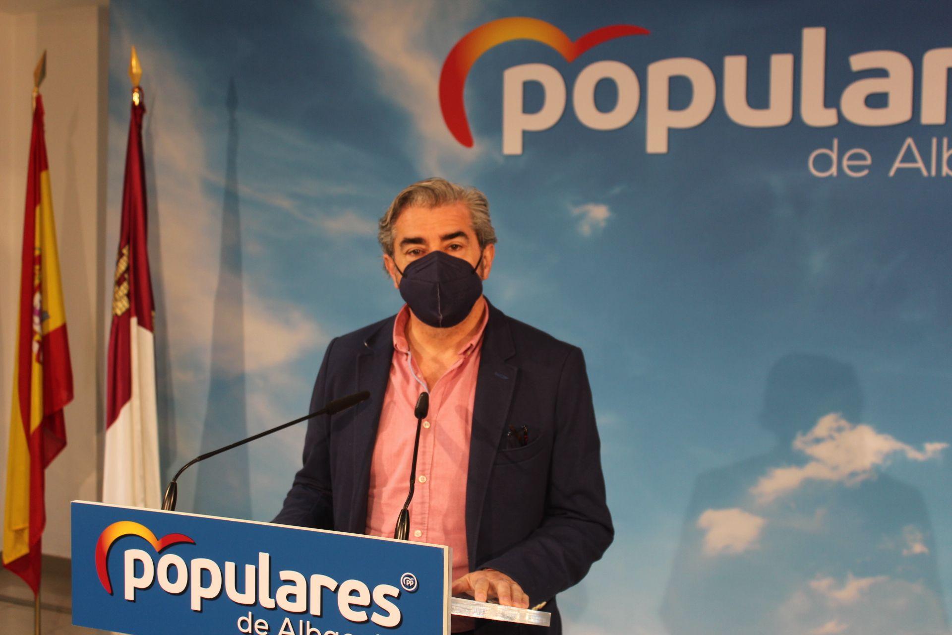 Ramón Rodríguez alerta sobre la sangría económica para Albacete que supondrá el pago por circular por la red de Autovías, tal y como pretende el Gobierno de PSOE-Podemos