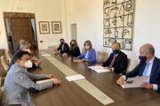 La alcaldesa se reúne con la Real Fundación para avanzar en proyectos de ciudad de índole cultural, artística y patrimonial