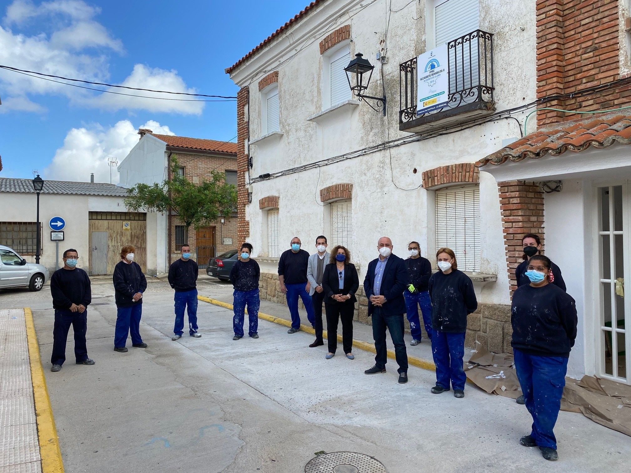 El Gobierno regional ha facilitado la formación y contratación de 16 personas desempleadas en Alcaudete de la Jara y San Bartolomé de las Abiertas a través del programa RECUAL